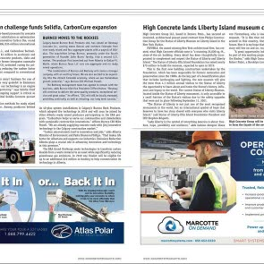 SOLM Concrete Products News Article