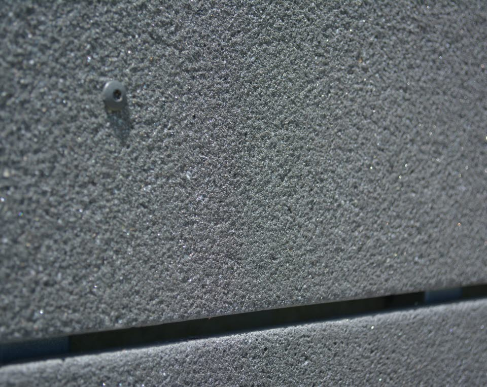 Close up of ThinCast Rainscreen panel