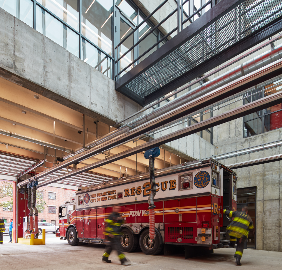 NYFD TPS Firehouse inside